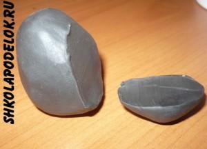 Как сделать интересную поделку из пластилина вместе с ребенком