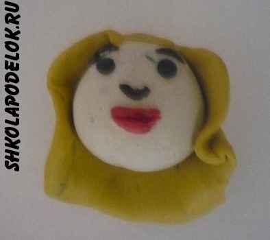 Как слепить куклу из пластилина