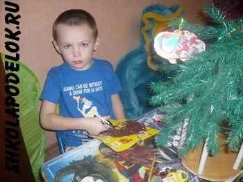 """На выставке """"Новый год глазами детей"""""""