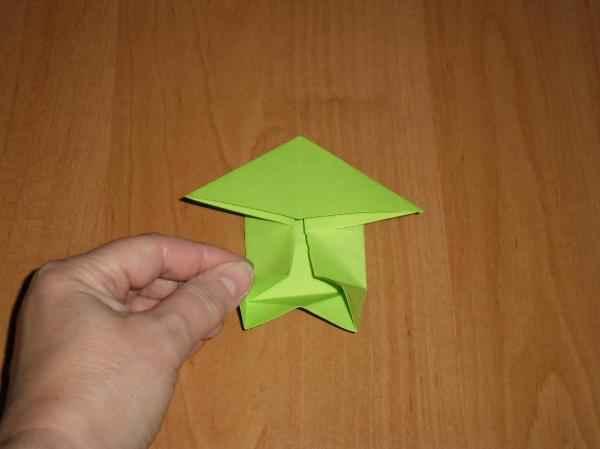 Как сделать лягушку из бумаги