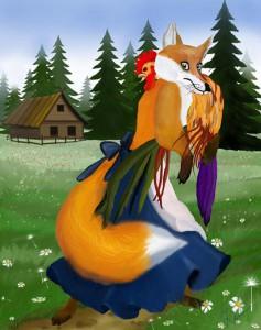 Стихи для детей про лису