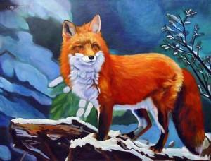 Загадки про лису для детей