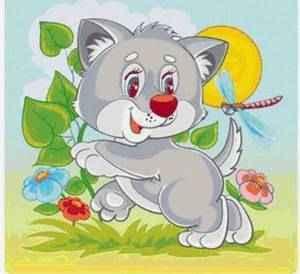 Стихи про волка для детей