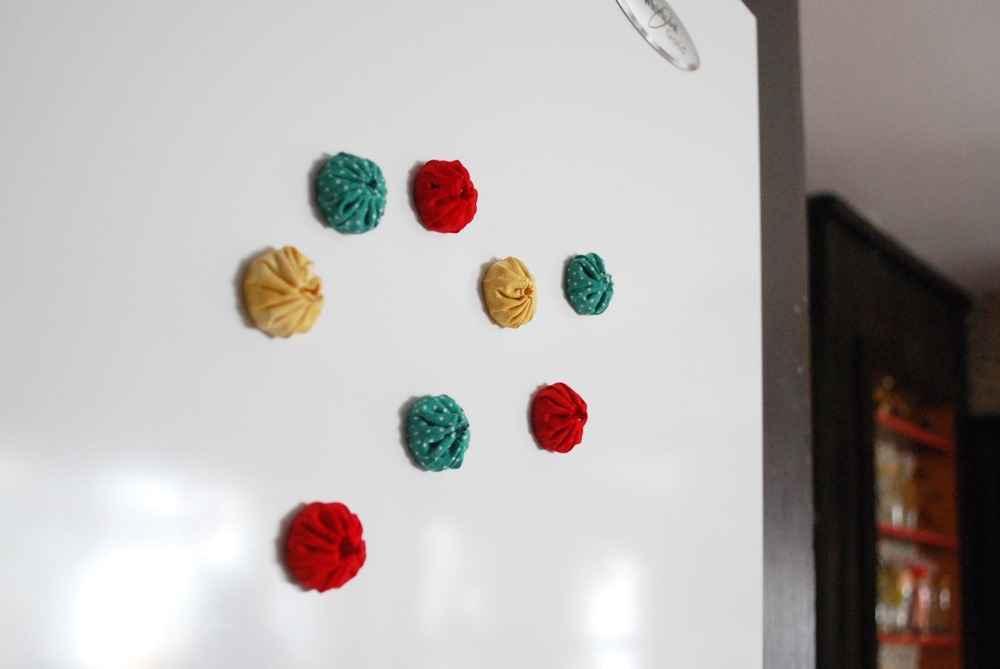 Тканевые магниты для холодильника